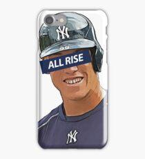 Aaron Judge - All Rise Censor Bar  iPhone Case/Skin