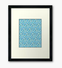 Cute Baby Things (Blue) Framed Print