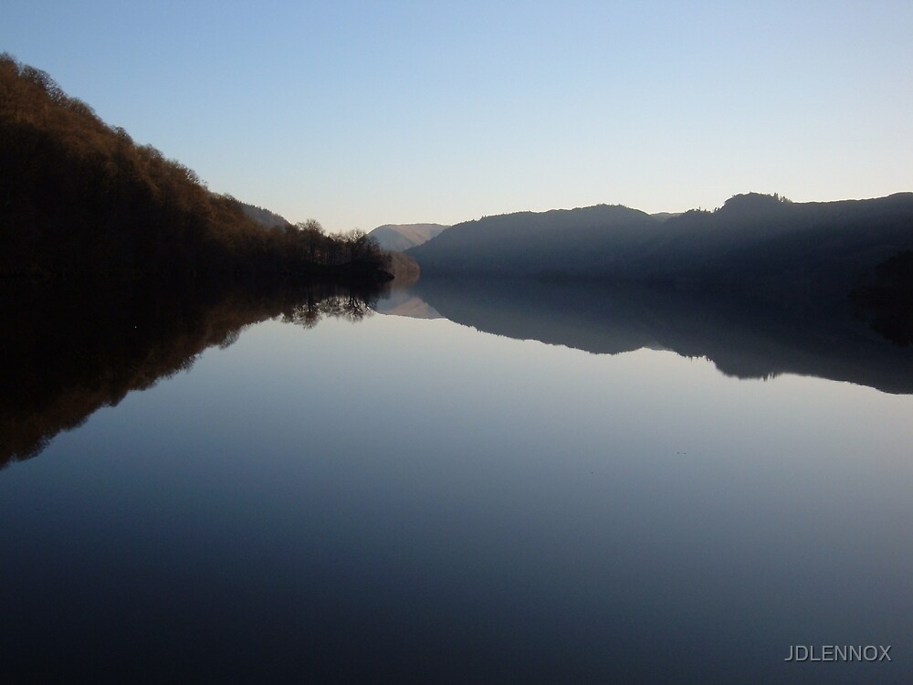 Thirlmere at dusk by JDLENNOX