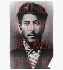 Stop Stalin Babe and Get Over Here Poster