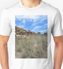 Stone Fence, Sedan Hill,South Australia 2011 T-Shirt