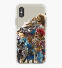 The Legend of Zelda - Breath of the Wild - Champion's Artwork - Link iPhone Case