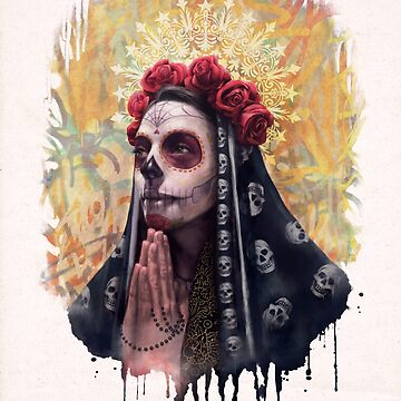 Catrina - The Skull Girl by carlostato