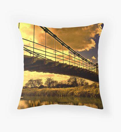 Horkstow Bridge Throw Pillow