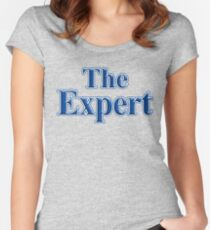 The Expert Women's Fitted Scoop T-Shirt
