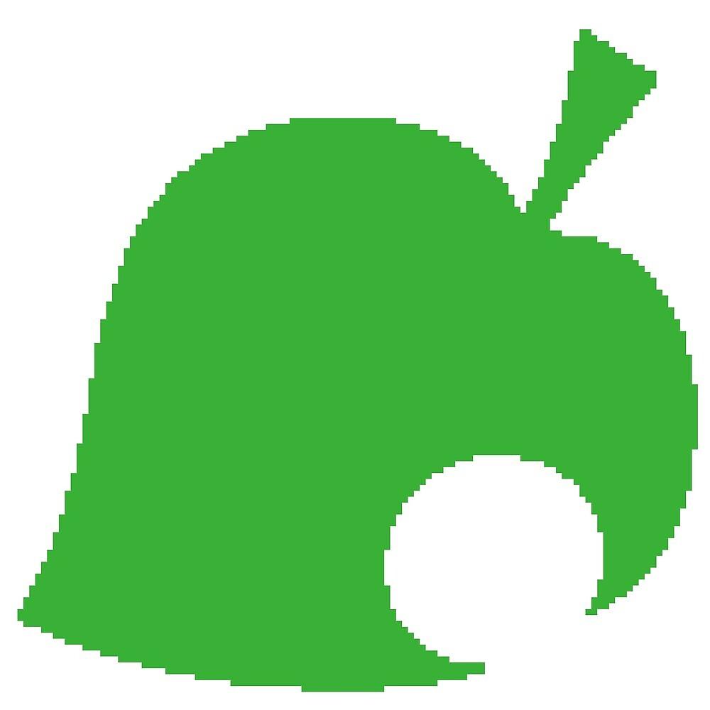 8-bit Animal Crossing Leaf/Logo by kellex