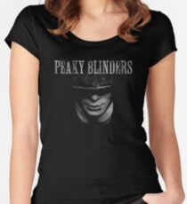 Darkness of Peaky Blinders  Women's Fitted Scoop T-Shirt