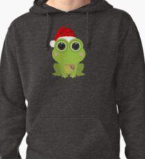 Christmas Frog Pullover Hoodie