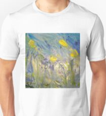 Abstract Daffodils Unisex T-Shirt