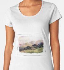 Pastoral Scene Women's Premium T-Shirt