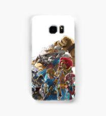 The Legend of Zelda - Breath of the Wild - Champions' Artwork - Link Samsung Galaxy Case/Skin