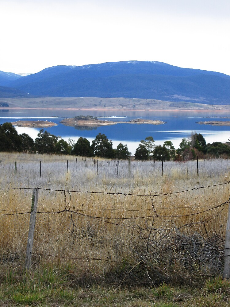 Jindabyne Tapestry by ailsamarshall