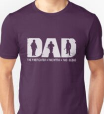 Dad The Firefighter The Myth The Legend T-shirts T-Shirt