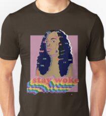 Stay Woke fan art Pride week  T-Shirt