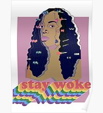 Stay Woke fan art Pride week  Poster
