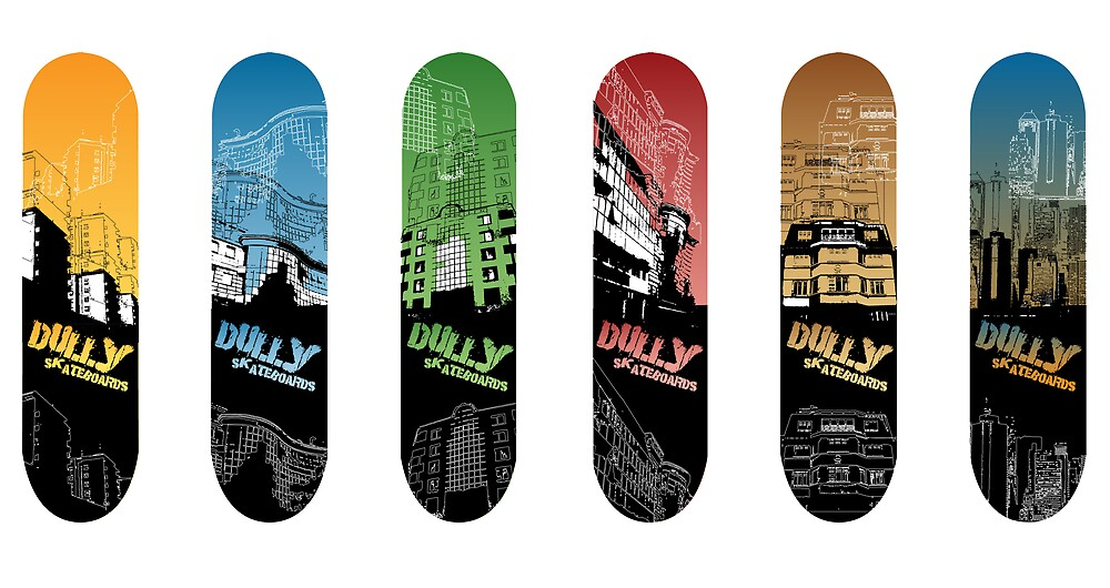 Dully Skate Designs by Nathan Duffield