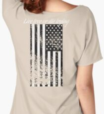 Live Free or Die Trying Women's Relaxed Fit T-Shirt