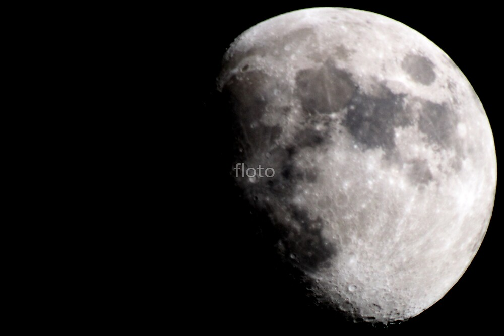 Moon by floto