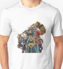 The Legend of Zelda - Breath of the Wild - Champions' Artwork - Link Unisex T-Shirt