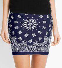 Bandana - Navy Blue -  Mini Skirt