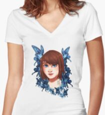 Max Caulfield Women's Fitted V-Neck T-Shirt