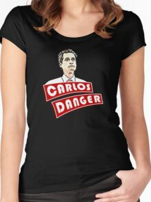 Carlos Danger aka Anthony Weiner T-Shirt Women's Fitted Scoop T-Shirt
