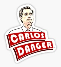 Carlos Danger aka Anthony Weiner T-Shirt Sticker