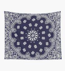 Bandana - Navy Blue -  Wall Tapestry