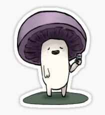 Northwest Mushroom Guy  Sticker