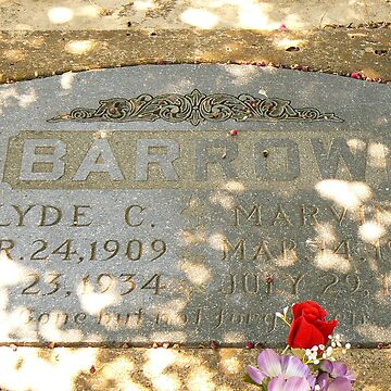 Clyde Barrow by angelawillene