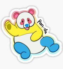 Pan-da Sticker