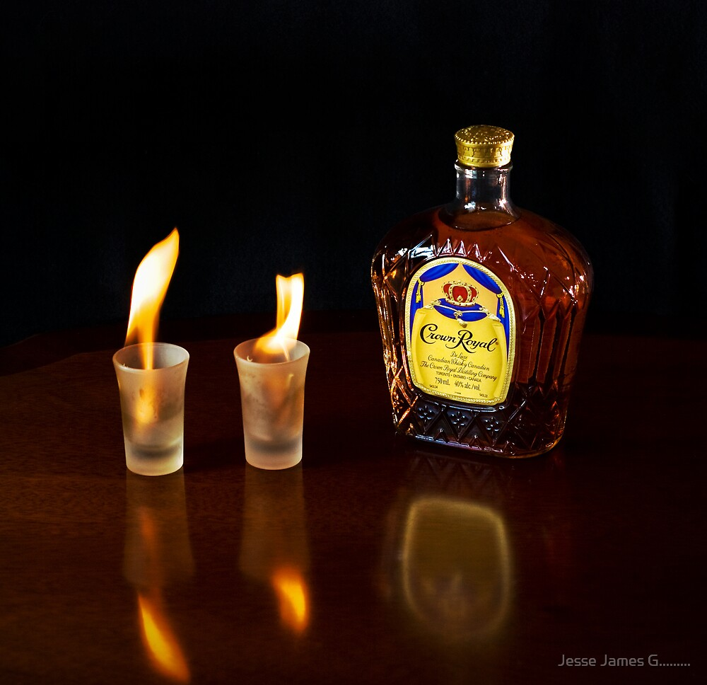 Whiskey on Fire! by Jesse James G.........