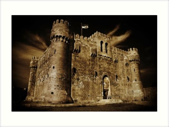 Citadel of Qaitbay by Abdel Soudan