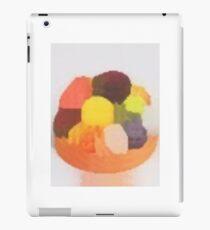 colorful fruit pastry cake iPad Case/Skin