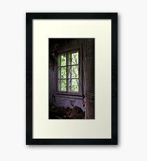 13.6.2017: Six Paned Window Framed Print