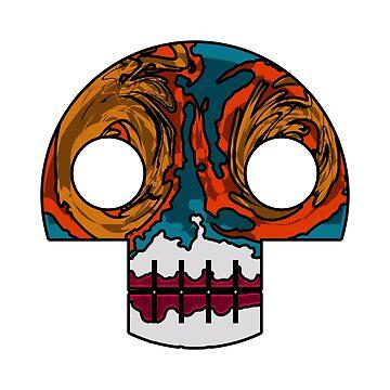 Luchador Skull by Artantat