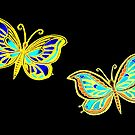 Butterflies Night Flight by Linda Callaghan