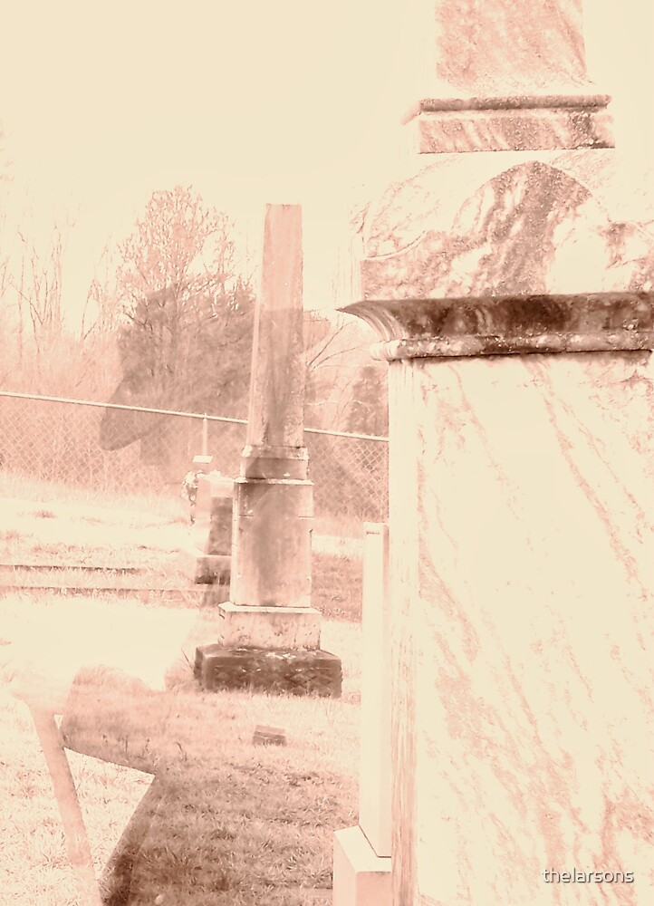 Ghost in the Cemetery by thelarsons