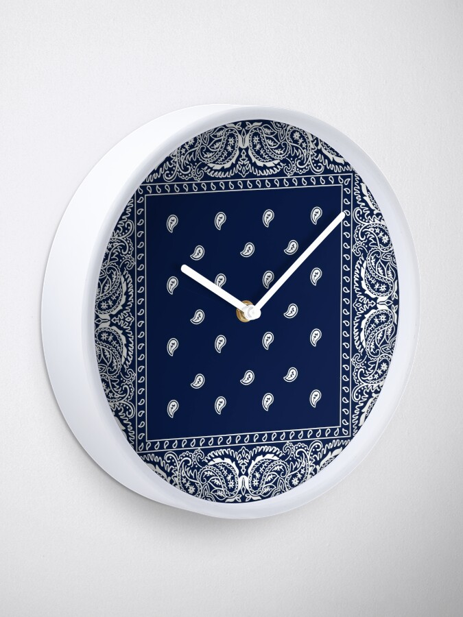 Vista alternativa de Reloj Pañuelo - Azul - Paisley Bandana