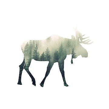 Moose: Spirit of the Wood by Phantomtollboy