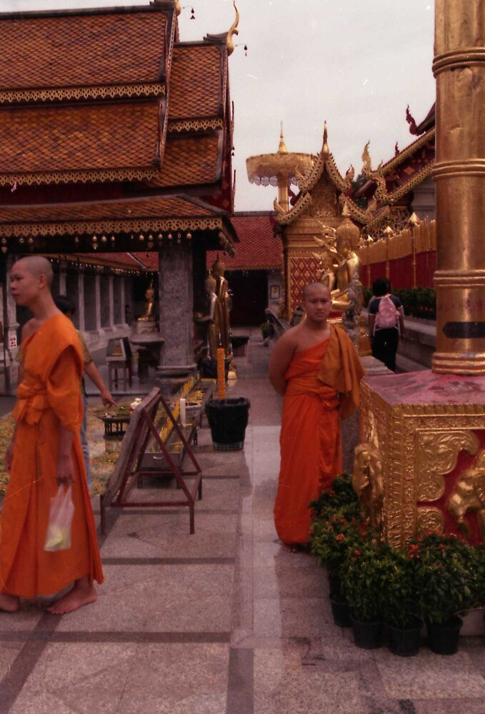 BUDDHIST MONKS by oshun25