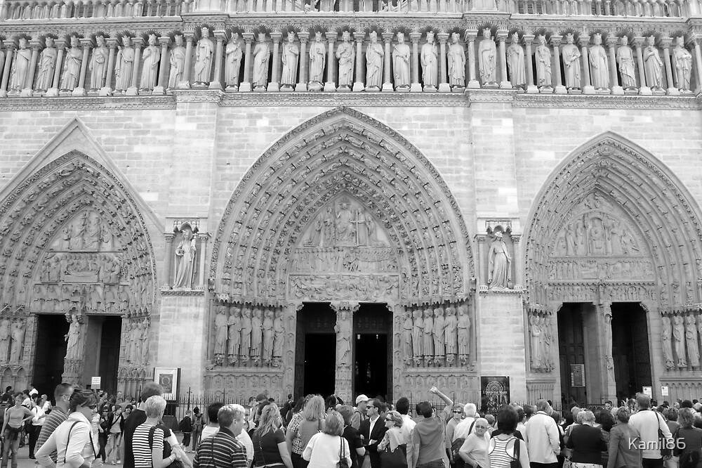 Notre Dame, Paris by Kamil86
