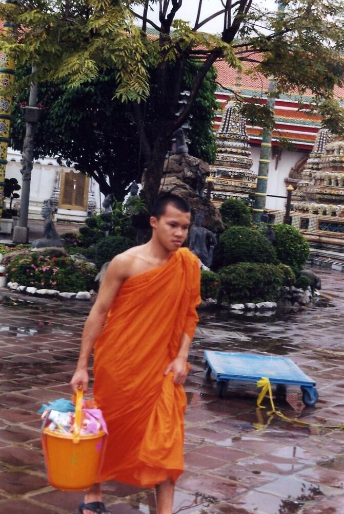 BUDDHIST MONKS by oshun25