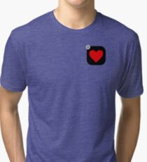Don't Go Deleting My Heart Tri-blend T-Shirt