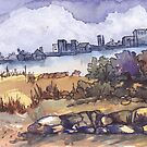 Iscor city skyline by Maree Clarkson