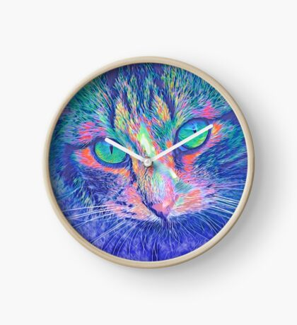 SteelBlue Clock