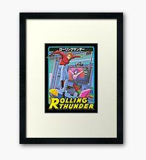 Rolling Thunder Framed Print
