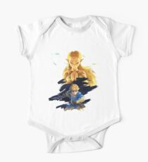 The Legend of Zelda : Breath of the Wild - Link and Zelda One Piece - Short Sleeve