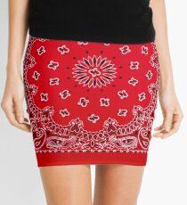 Bandana - Red  Mini Skirt