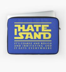 For sand haters (yellow) Laptop Sleeve